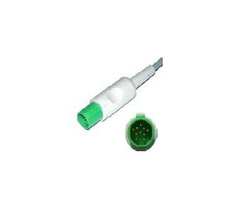 ЕКГ кабел за ПМ и дефибрилатор - 3 жилен HELLIGE