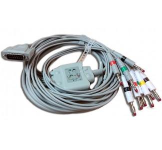 ЕКГ пациентен кабел EDAN