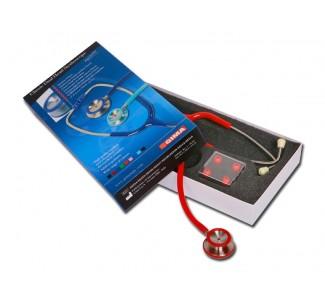 Стетоскоп GIMA CLASSIC - червен