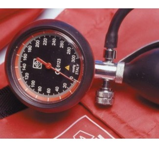 Апарат за кръвно налягане LONDON - червен