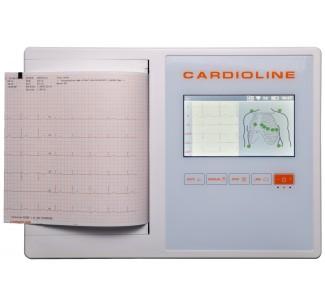 12 канален ЕКГ апарат CARDIOLINE ECG200L.